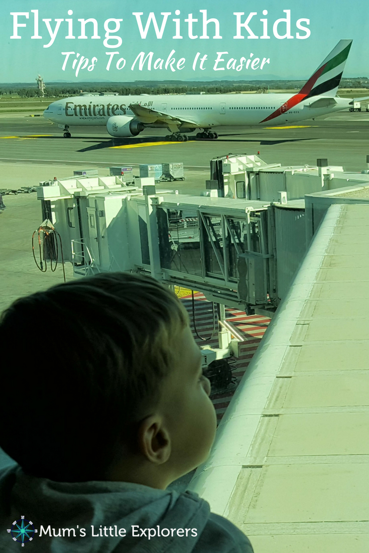 Flying with Kids - Tips and Advice to make it easier