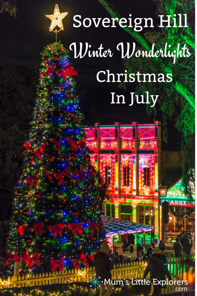 Winter Wonderlights in Sovereign Hill - Christmas in July