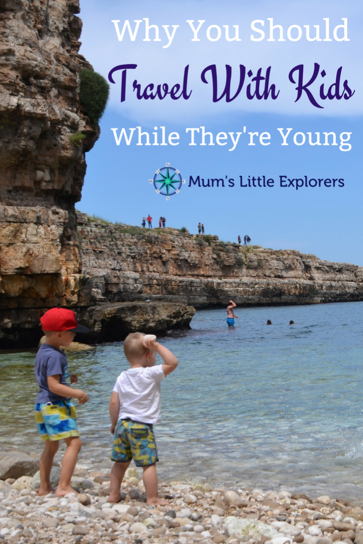 Why you should travel with kids while they are young