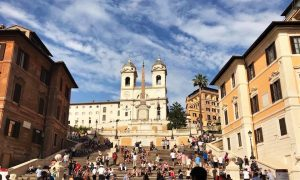 Rome-with-kids-spanish-steps