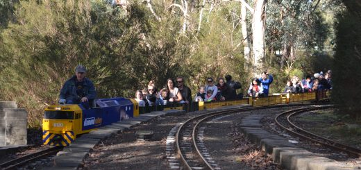 Eltham Miniature Railway - Diamond Valley