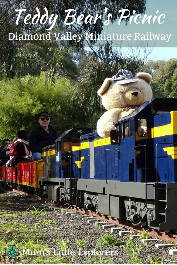 Eltham Miniature Railway, Diamond Valley - Teddy Bear's Picnic