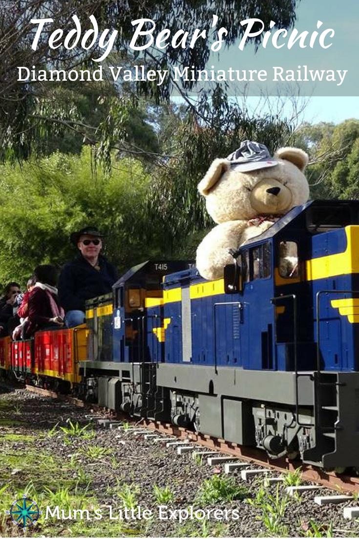 Eltham Miniature Railway, Diamond Valley - Teddy Bear's Picnic