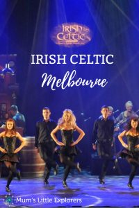 Irish Celtic are touring Melbourne Australia