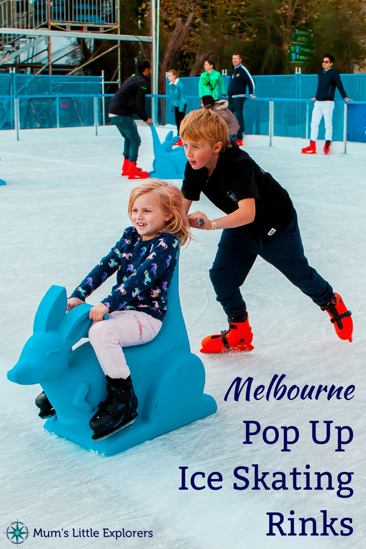 Pop up Ice Skating Rinks in Melbourne for Winter