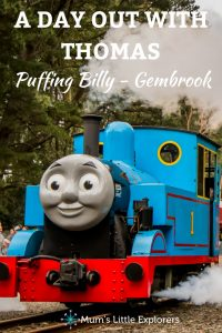 A day out with Thomas - Puffing Billy