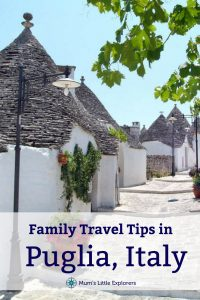 Family Italian Holiday Puglia with kids