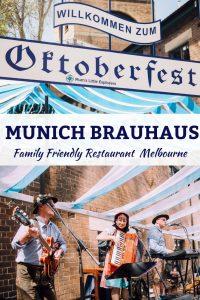 Oktoberfest in Melbourne Munich Brauhaus