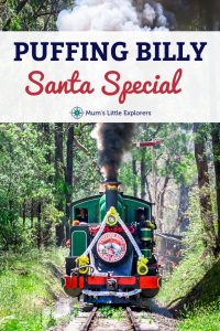 Puffing Billy Santa Special - Christmas Events Melbourne