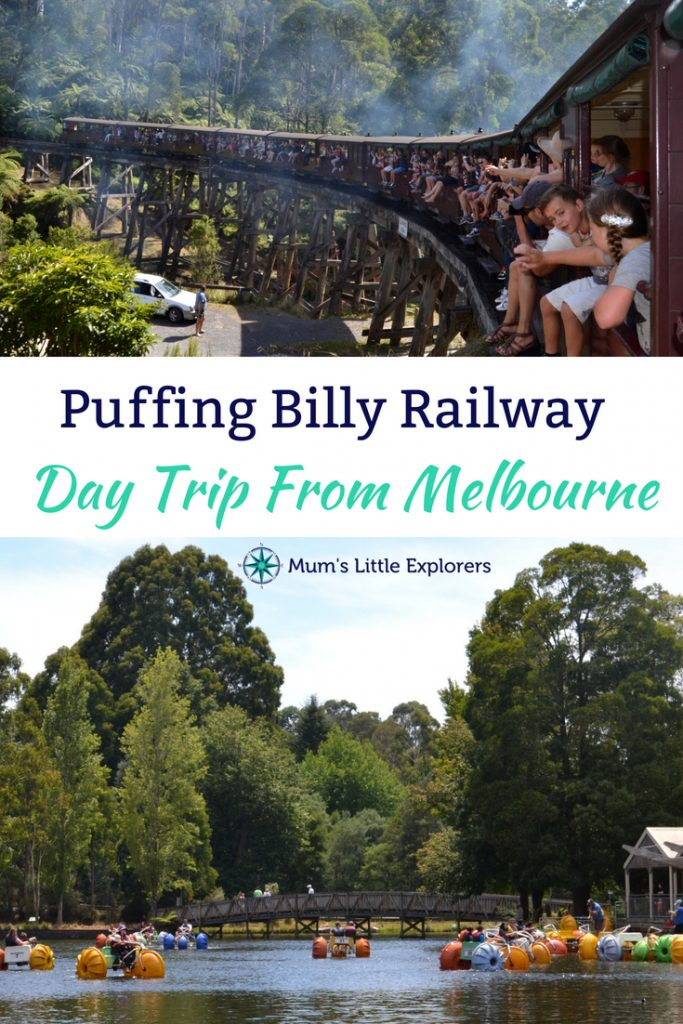 Puffing Billy Steam Train Day Trip Melbourne with Kids