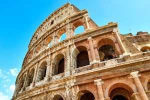 Colloseum Rome Italy family holiday with kids
