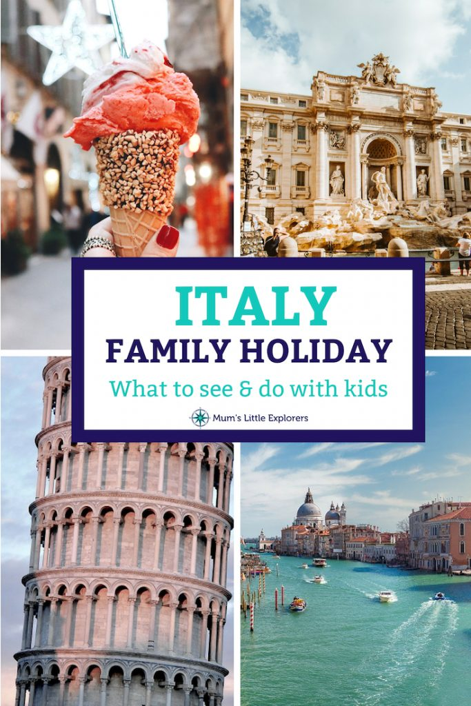 Italy family holiday with kids