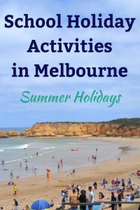 School Holiday Activities Summer
