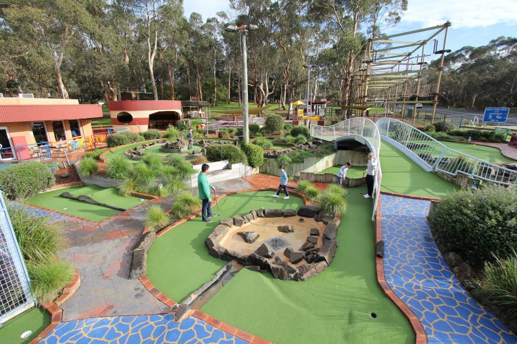 Mini Golf A Maze 'n Things Phillip Island