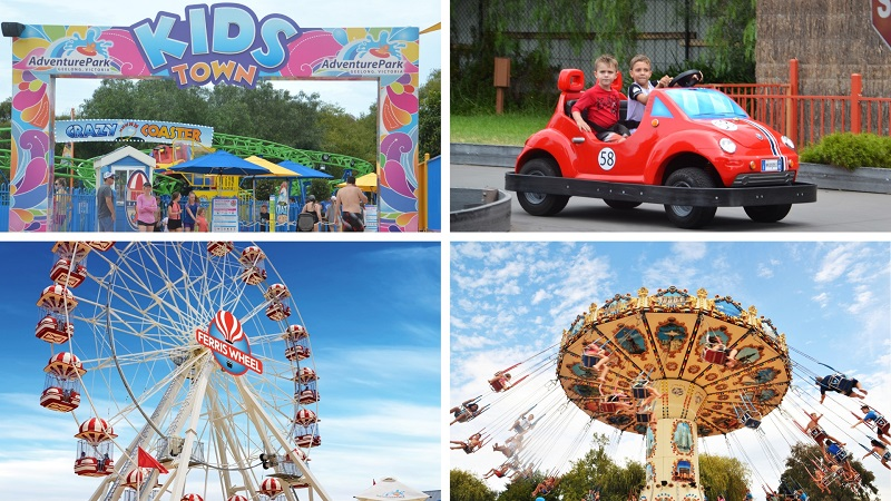 Adventure Park Geelong Theme Park Rides