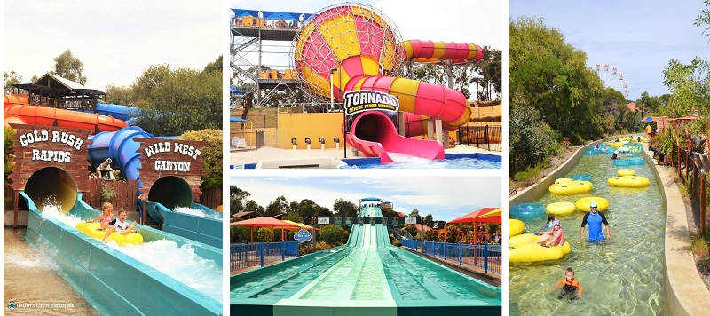 Adventure Park Geelong Water Slides