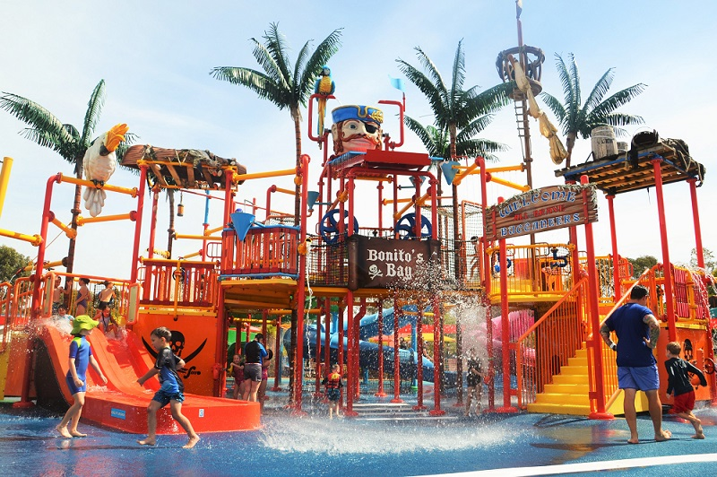 Water Play for Kids at Adventure Park