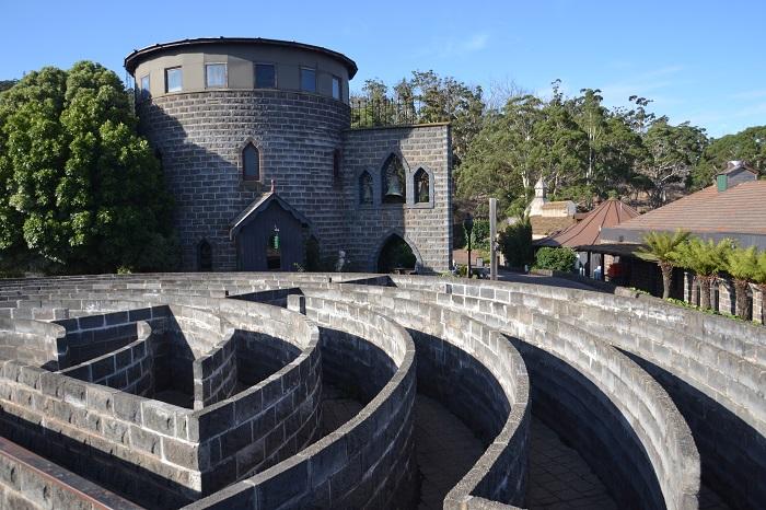 Labrynth, Kryal Castle Maze, Ballarat