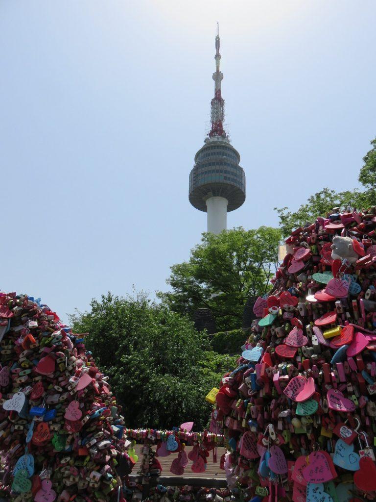 Namsan Tower - Seoul with Kids
