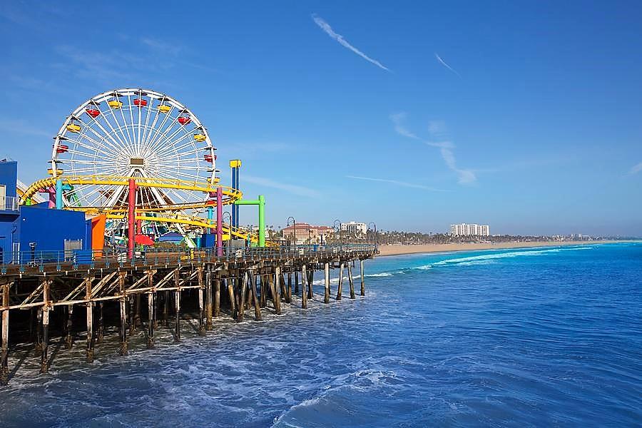 Santa Monica Beach, Southern California