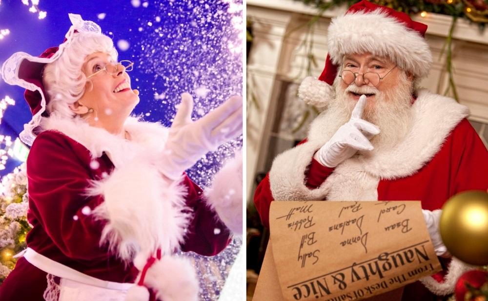 Santa and Mrs Clause at Santas Magical Kingdom Melbourne