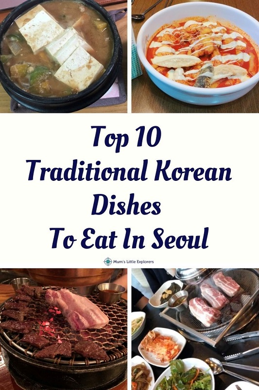 Top 10 Traditional Korean Dishes to Eat In Seoul