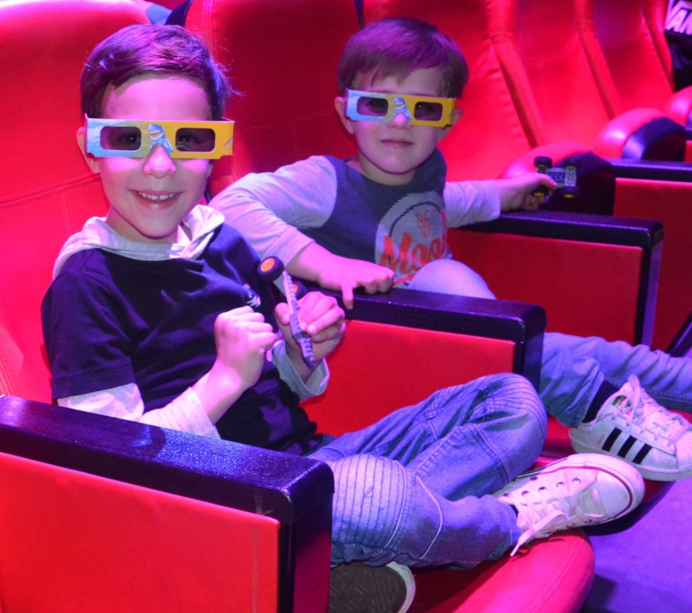 4D Cinema at LEGOLAND Discovery Centre Melbourne