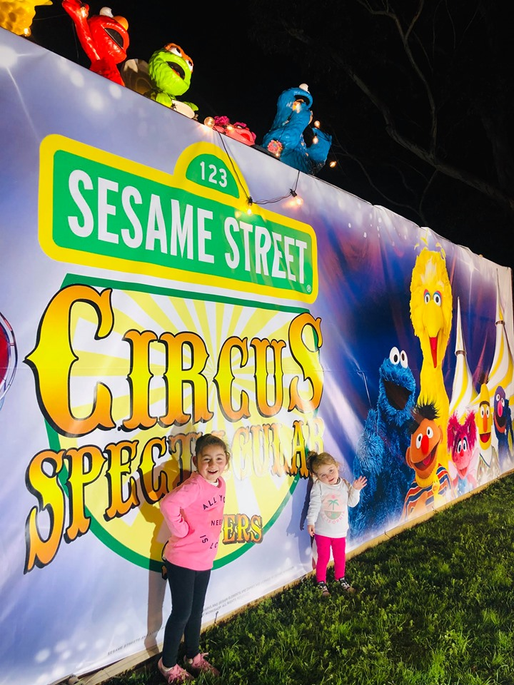 Sesame Street Circus Silvers Melbourne