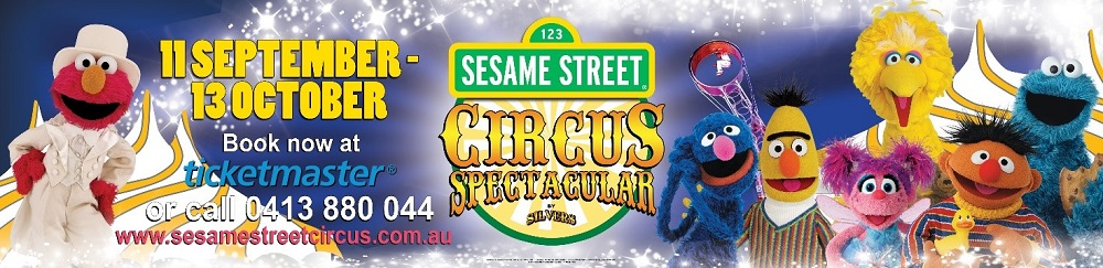 Sesame Street Circus Spectacular in Melbourne by Silvers