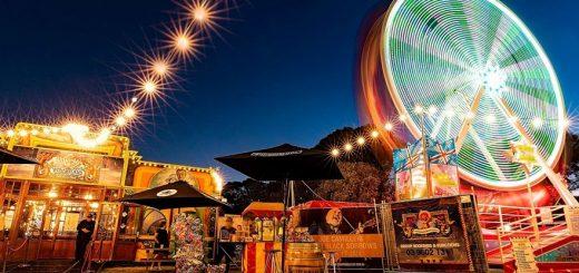 Wonderland Spiegletent Pop Up Park Fed Square Melbourne