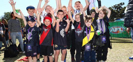 AFL Footy Festival Melbourne for Kids