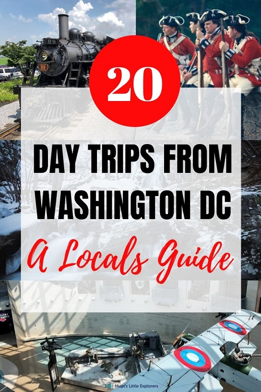 Best Day Trips from DC - locals guide