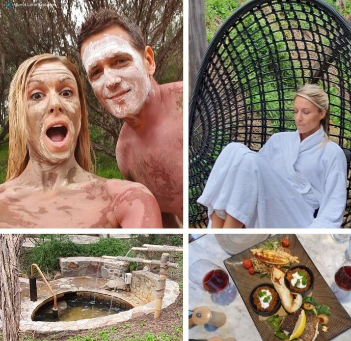 Body Clay, Lunch and Dine, Mornington Peninsula Springs