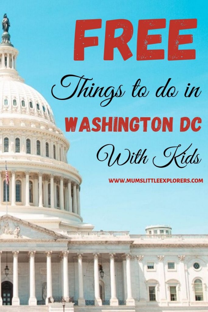 Free things to do in Washington DC with kids