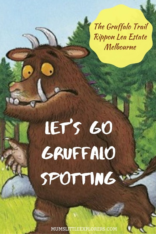 Gruffalo Spotting in Melbourne with Kids