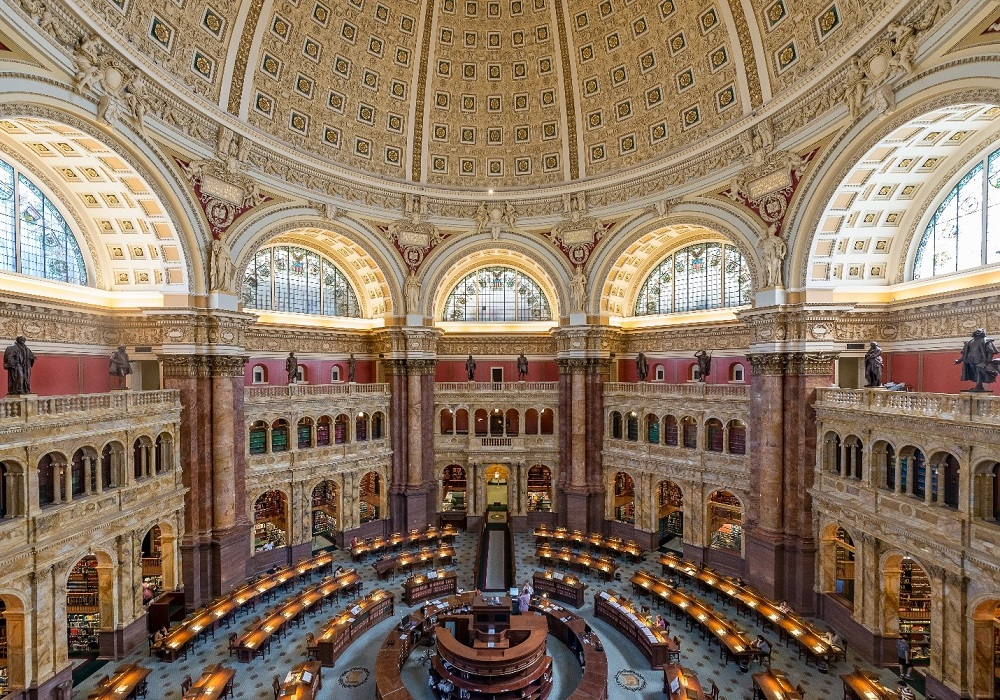 Library of Congress - Free things to do in DC