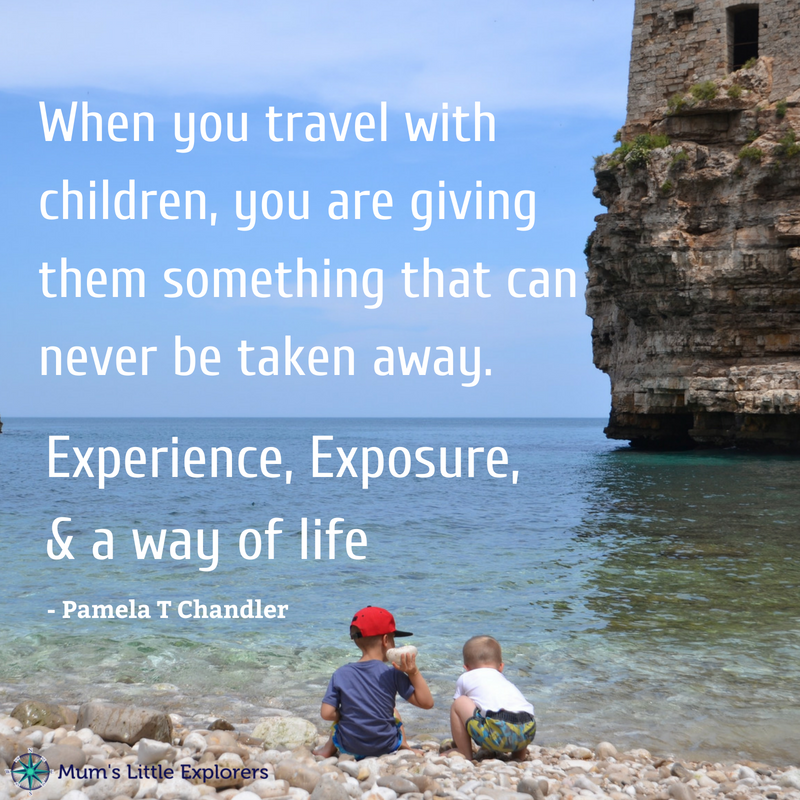 Travel with kids quote culture