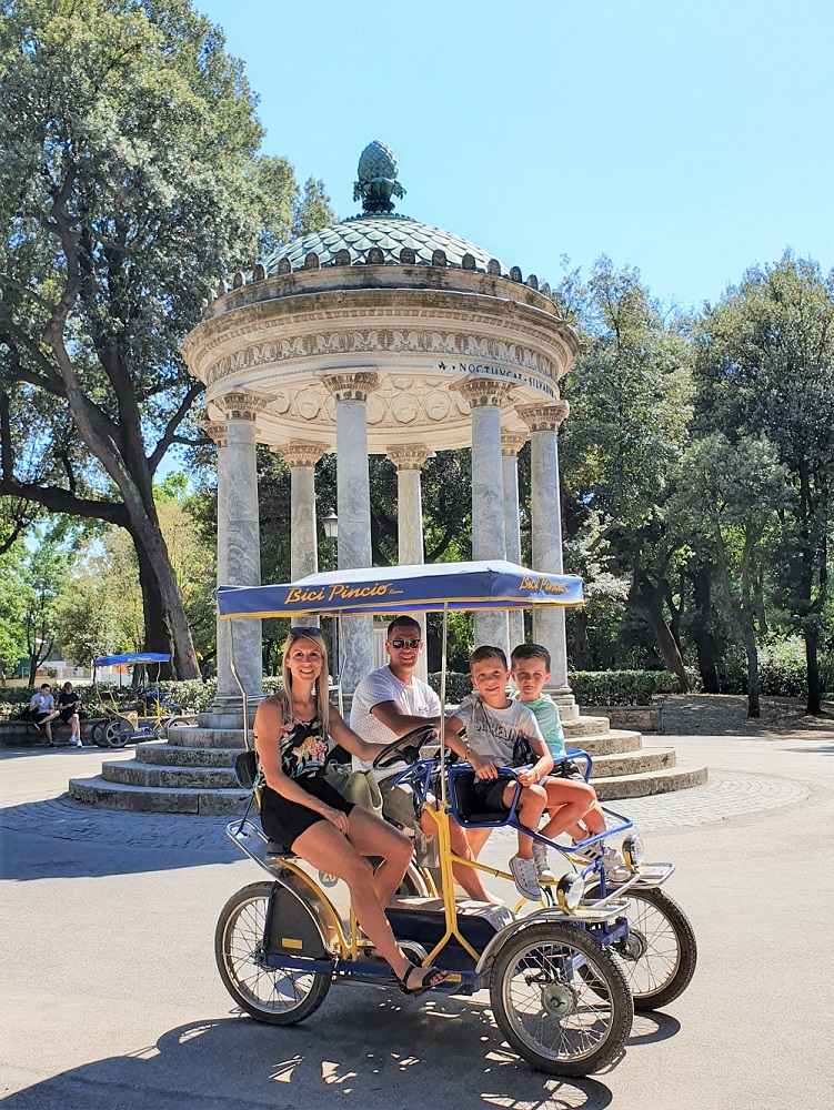 Villa Borghese Rome with Kids