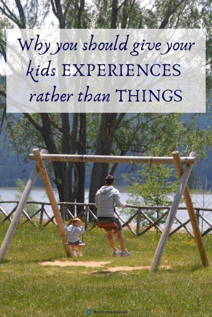 Why you should give kids experiences not things