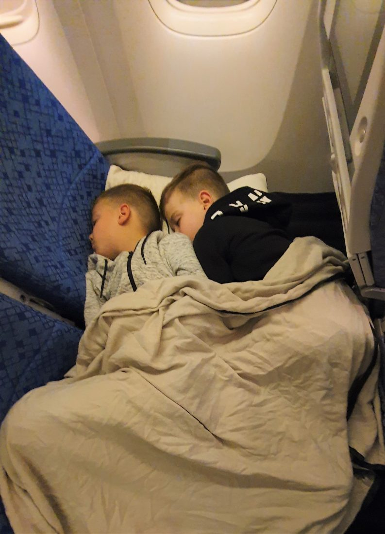 Plane Pal - Kids Lay Flat on the plane