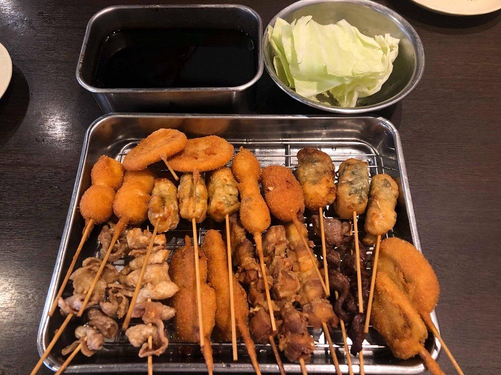 Kushi Katsu - What to eat in Japan