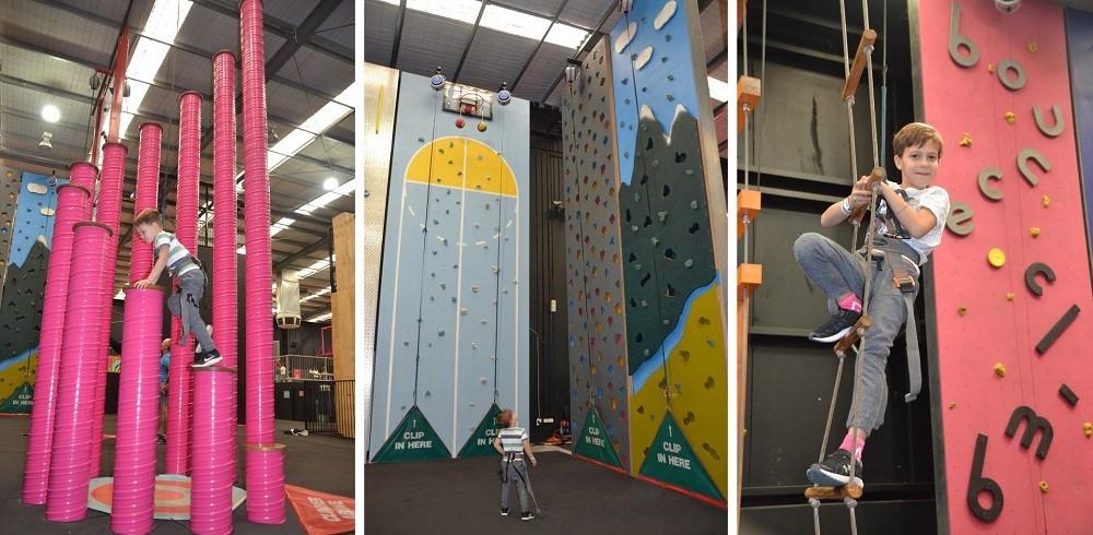 Latitude Climbing Area