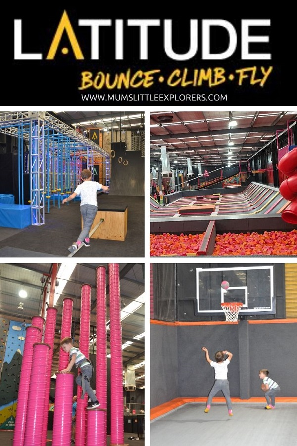 Latitude Melbourne Bounce Climb Fly