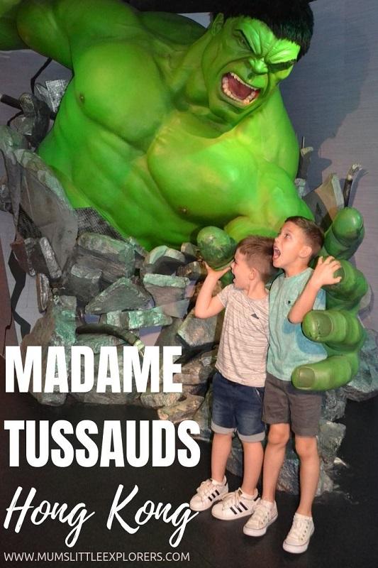 Madame Tussauds - Hong Kong with Kids