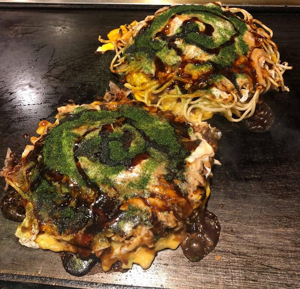 Okonomiyaki - What to eat in Japan