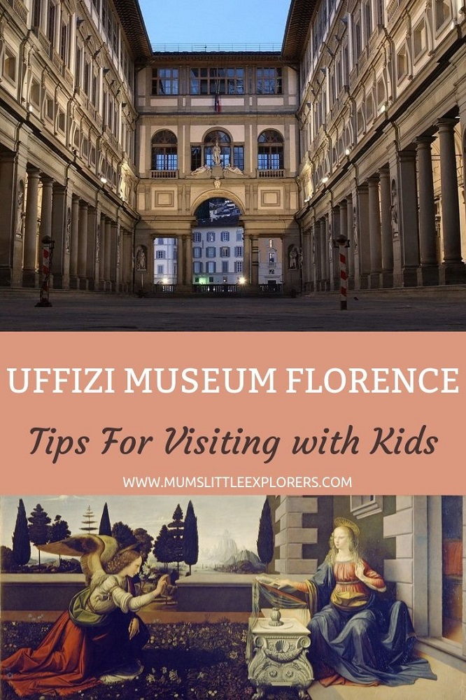 Tips for visiting Uffizi with kids