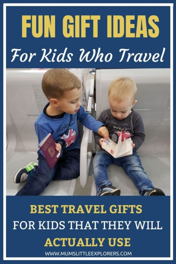 Fun Gifts for Kids who Travel