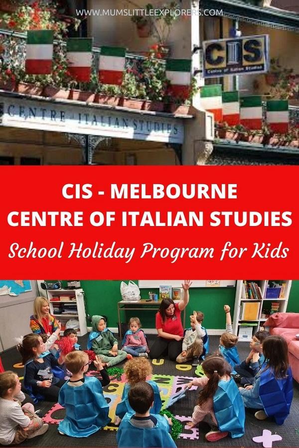 Italian Holiday Program for Kids Melbourne