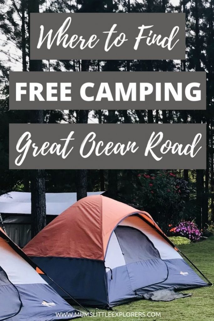 Where to Find Free Camping on the Great Ocean Road