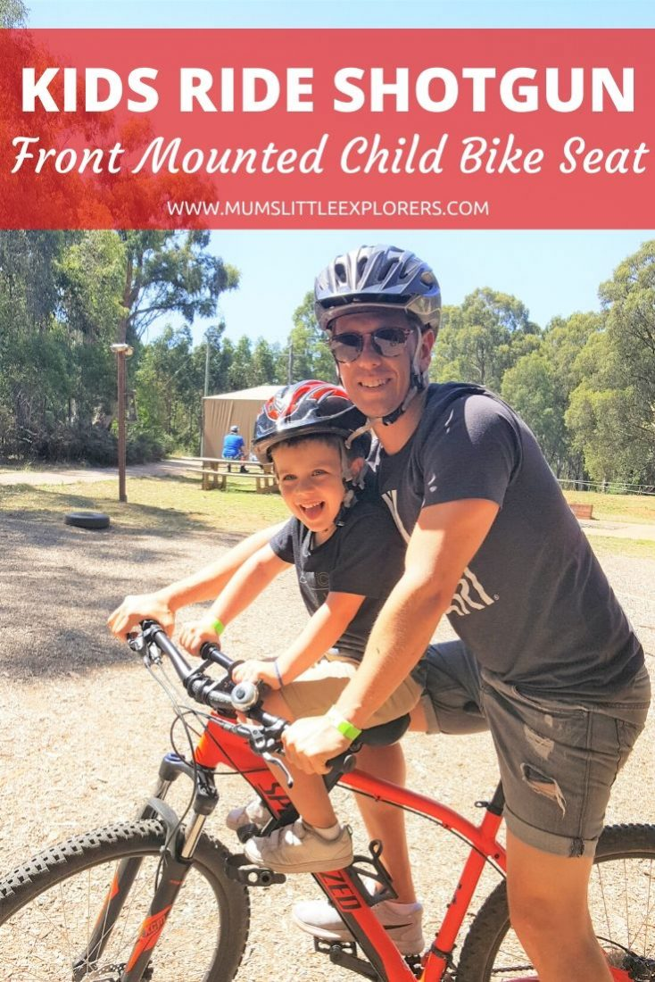 Kids Ride Shotgun Child Bike Seat Review